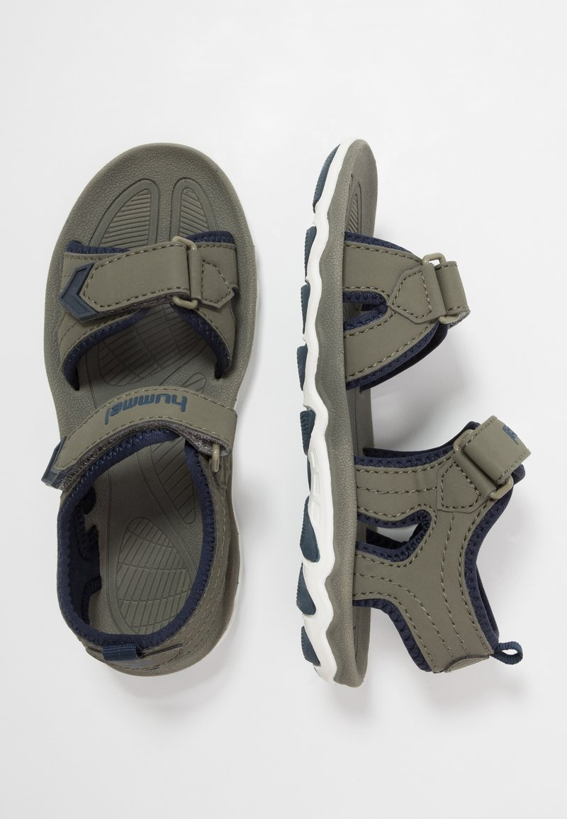 Hummel - SPORT - Walking sandals - deep lichen green