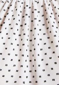 Closet - HIGH COLLAR MINI DRESS - Day dress - ivory - 6