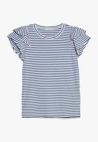 J.CREW - LILIAN - Print T-shirt - ivory/blue - 0