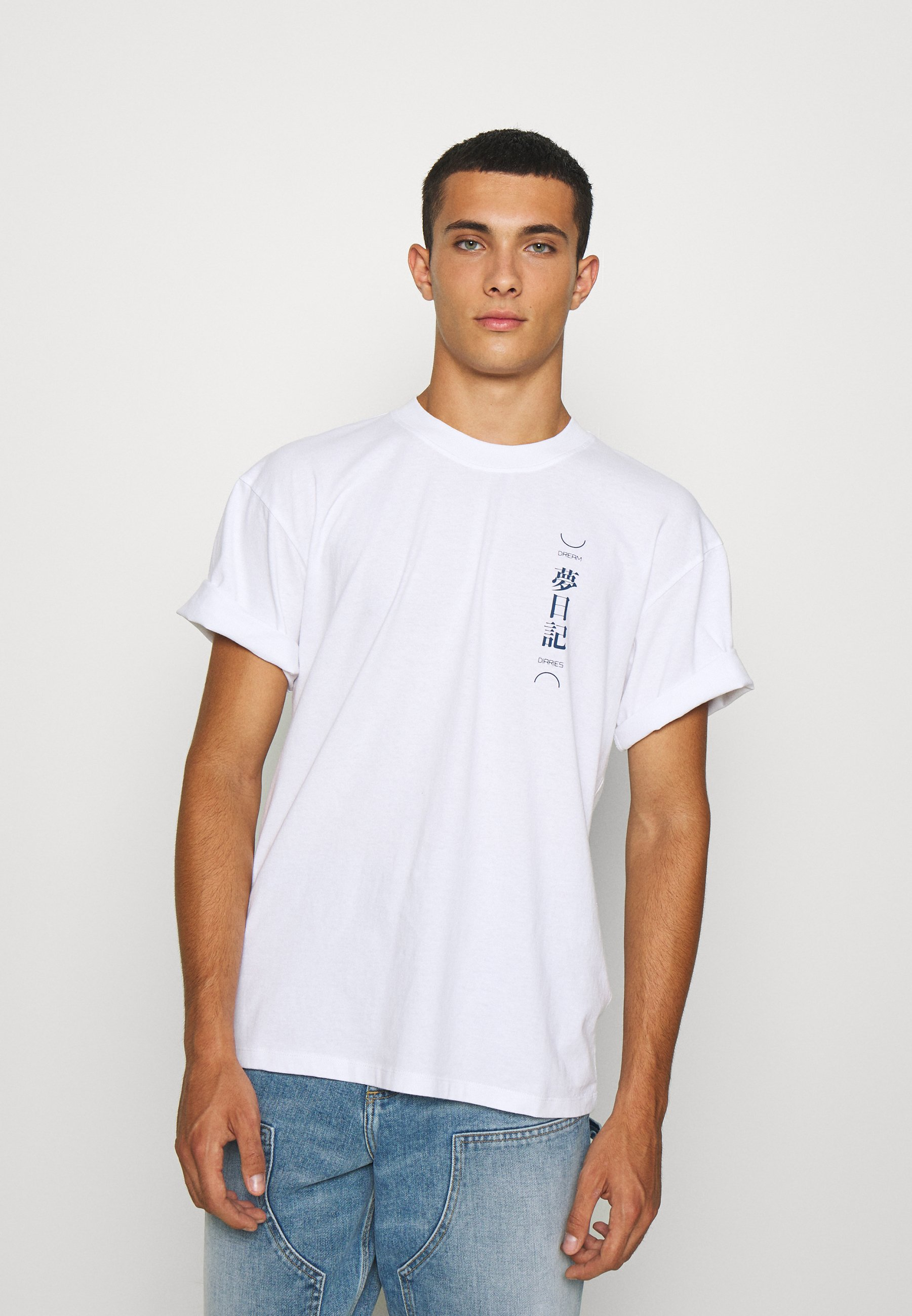 Men DREAM DIARIES UNISEX - Print T-shirt