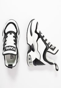 KARL LAGERFELD - LAZARE MID  - Sneakers high - white/black - 3