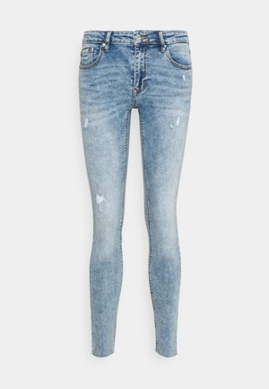 VMLYDIA RAW - Jeans Skinny Fit - light blue denim