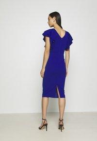 WAL G. - KENSLEY RUFFLE SLEEVE DRESS - Day dress - electric blue - 2