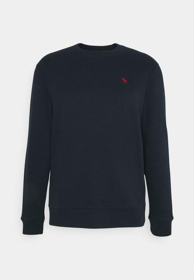 LONG LIFE ICON CREW - Sweatshirt - navy
