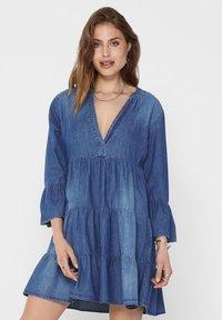 JDY - Denim dress - medium blue denim - 0