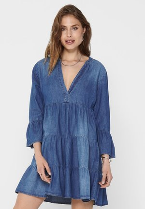 Denim dress - medium blue denim