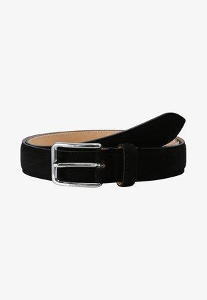 BOBBY SUEDE BELT - Cintura - black