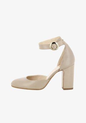 Zapatos altos - greige