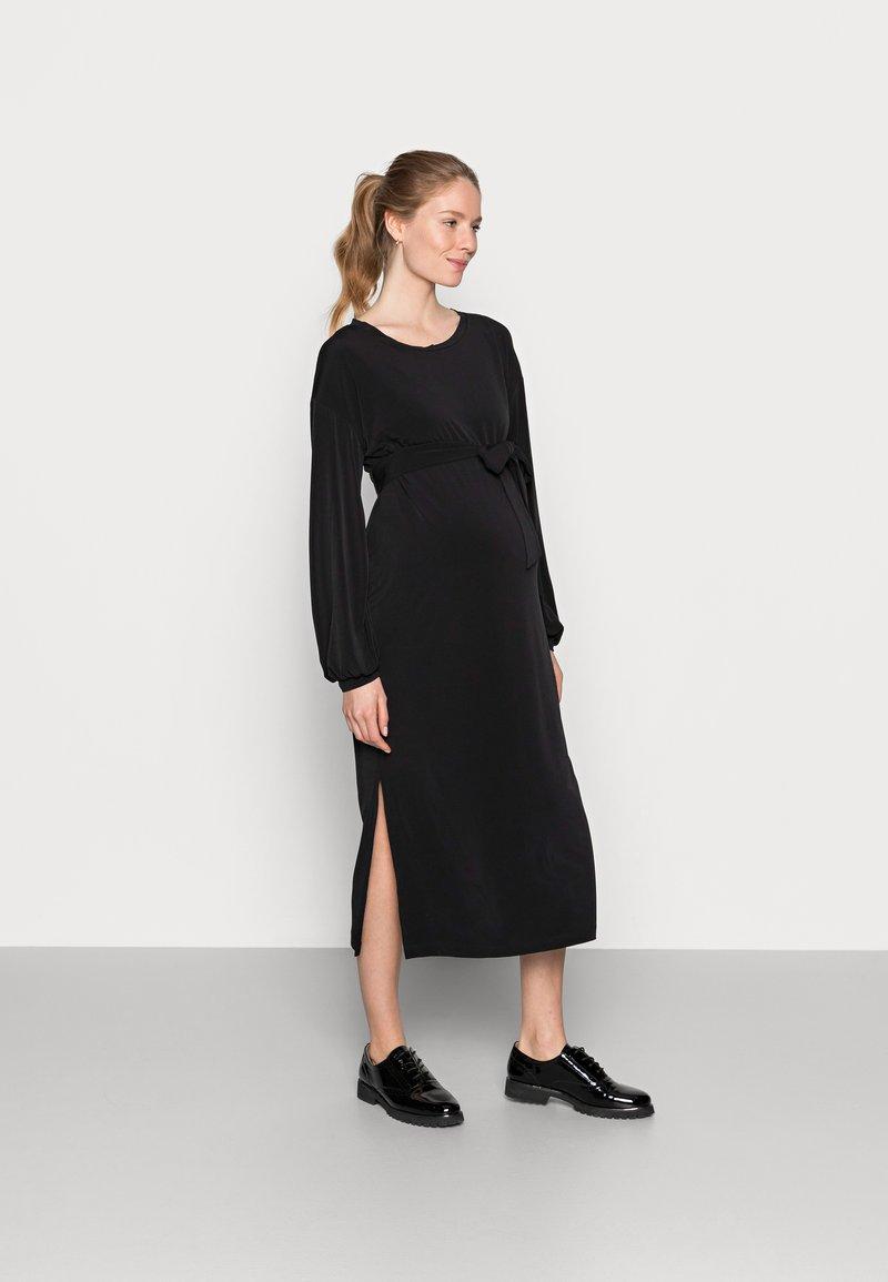 Lindex - DRESS MOM LISA - Trikoomekko - black