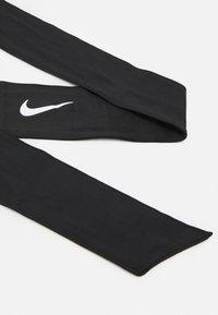 Nike Performance - DRI FIT HEAD TIE  - Ørevarmere - black/white - 3