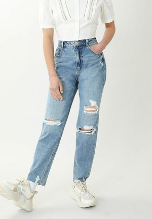 Jeans a sigaretta - denimblau
