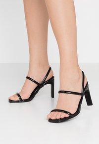 Glamorous - Sandály na vysokém podpatku - black - 0