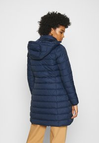 Tommy Jeans - ESSENTIAL HOODED COAT - Płaszcz puchowy - twilight navy - 3