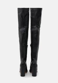 ALDO - DESSA - Kozačky nad kolena - black - 2