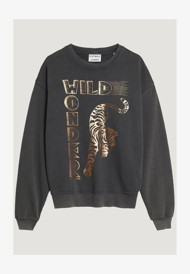 WILD - Sweatshirt - dark grey