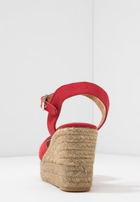 Castañer - BLAUDELL - Sandály na vysokém podpatku - rojo - 5