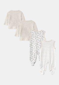 Jacky Baby - 2 PACK UNISEX - Pyjama - white/beige - 1