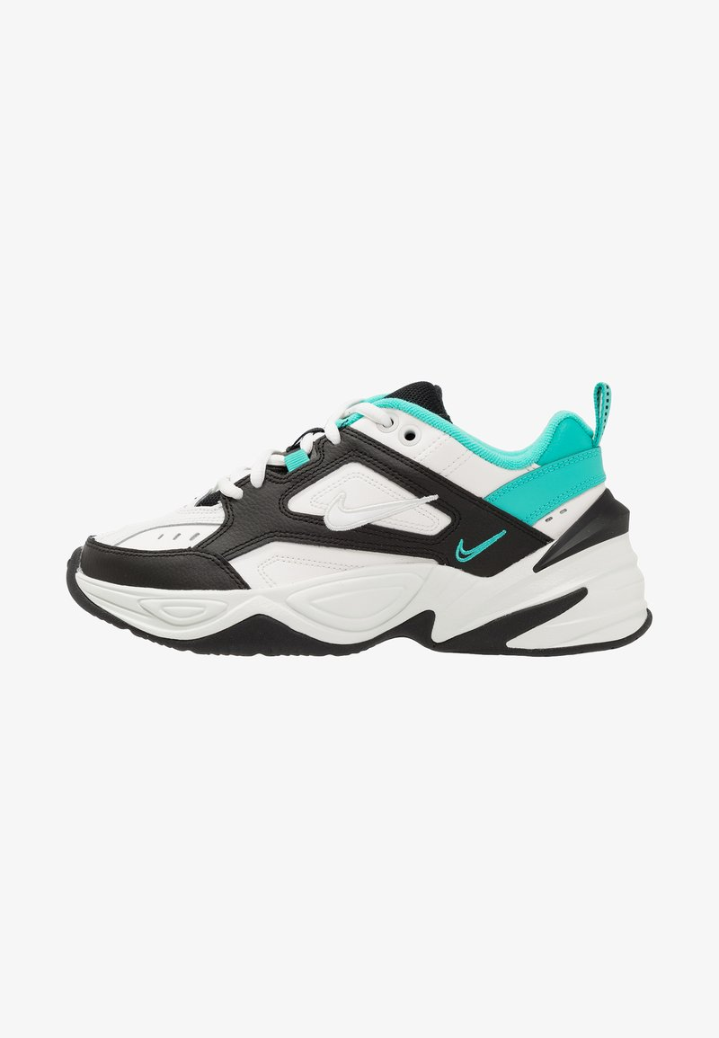 Reunir . Vaca  Nike Sportswear M2K TEKNO - Sneakers basse - summit white/black/hyper  jade/spruce aura/bianco - Zalando.it