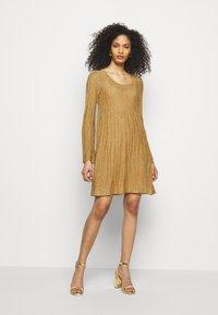 M Missoni - ABITO - Jumper dress - gold - 1