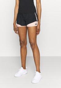 Smilodox - Sports shorts - black/pink - 0