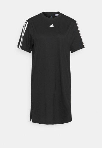 DRE - Sports dress - black/white