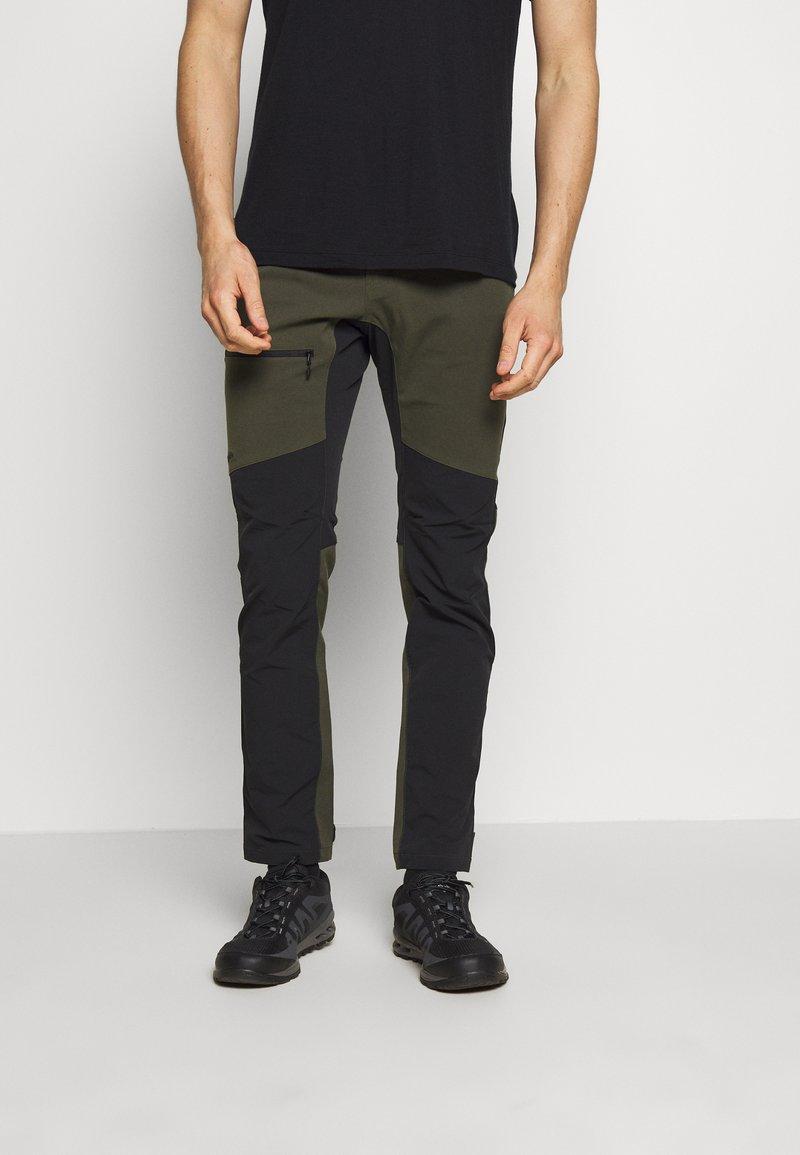 Haglöfs - RUGGED FLEX PANT  - Outdoor trousers - deep woods/true black