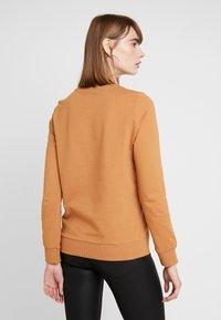 Noisy May - NMPANA SOLID - Sweatshirt - brown sugar - 2