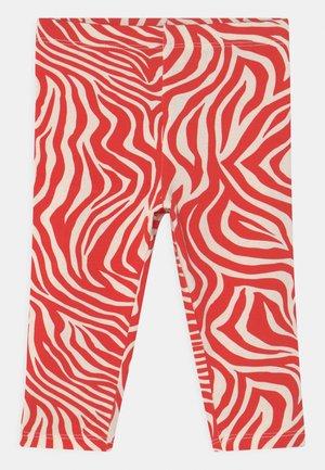 MINI BABY  - Leggings - Trousers - red