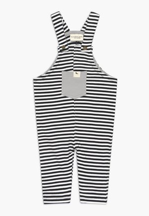 HUMBUG STRIPE EASY FIT BABY  - Dungarees - white/black