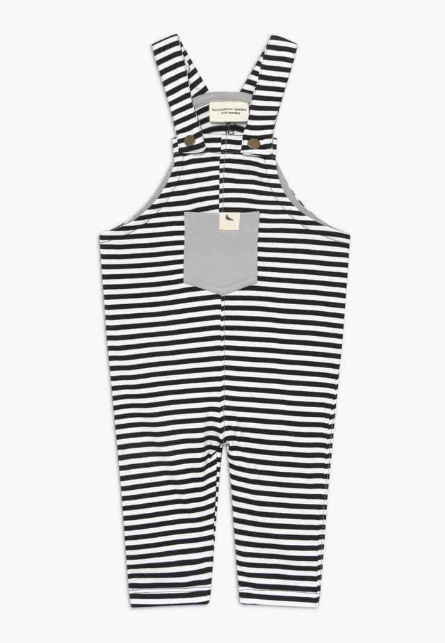 HUMBUG STRIPE EASY FIT BABY  - Salopette - white/black
