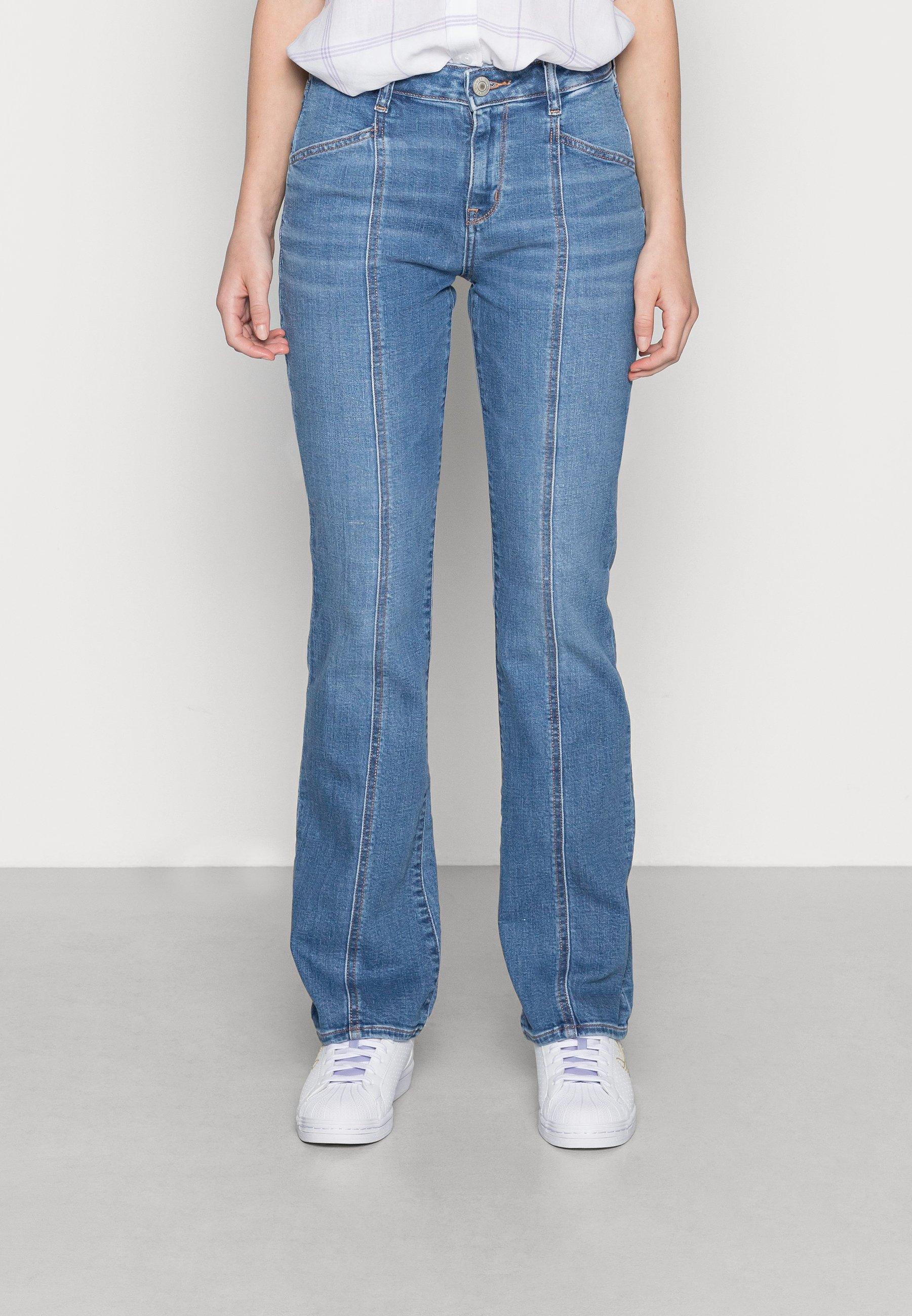 Damer KICK JEANS - Flared jeans