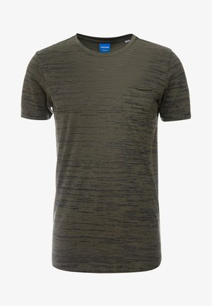 JORBASTON - T-shirt - bas - dusty olive