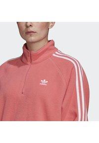 adidas Originals - FLEECE HZ - Fleece jumper - hazy rose - 4