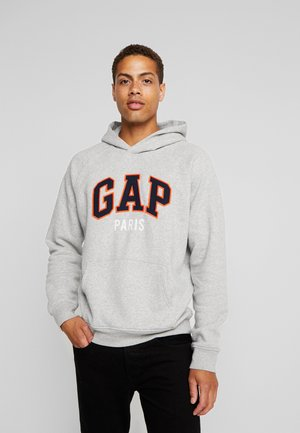 PARIS - Sweat à capuche - grey heather