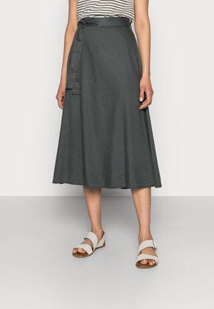 BODINA SKIRT - A-line skirt - dark shadow