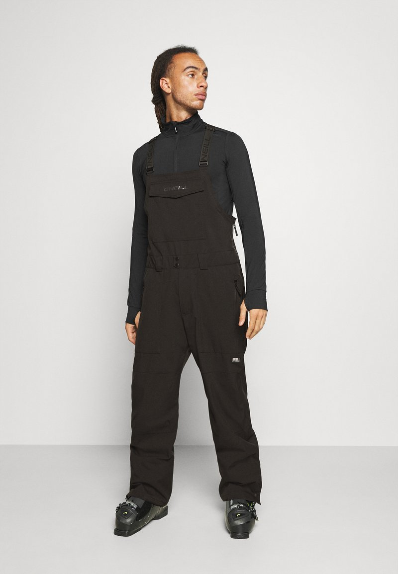 O'Neill - SHRED BIB PANTS - Snow pants - black out