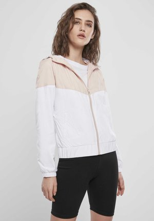 Arrow  - Summer jacket - lightpink/white