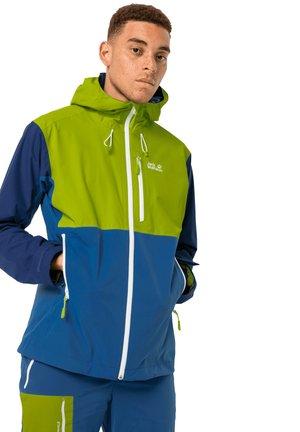 EAGLE PEAK  - Hardshell jacket - indigo blue