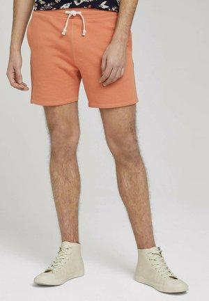 Shorts - orange lobster