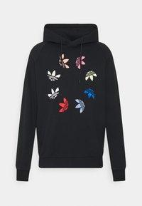 adidas Originals - HOODY - Hoodie - black/multicolor - 5