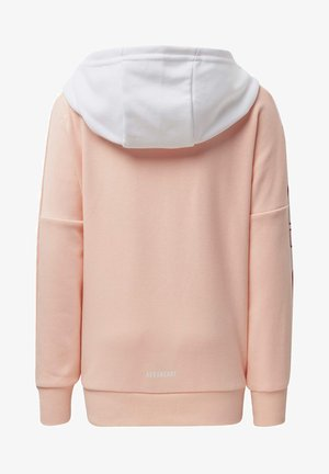 BRANDED KNIT JACKET - Zip-up hoodie - pink