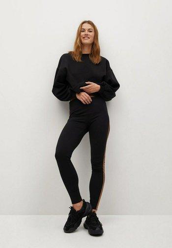 PUNTADEC-N - Leggings - Trousers - schwarz