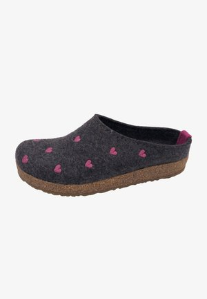 GRIZZLY CUORICINO - Slippers - anthrazit