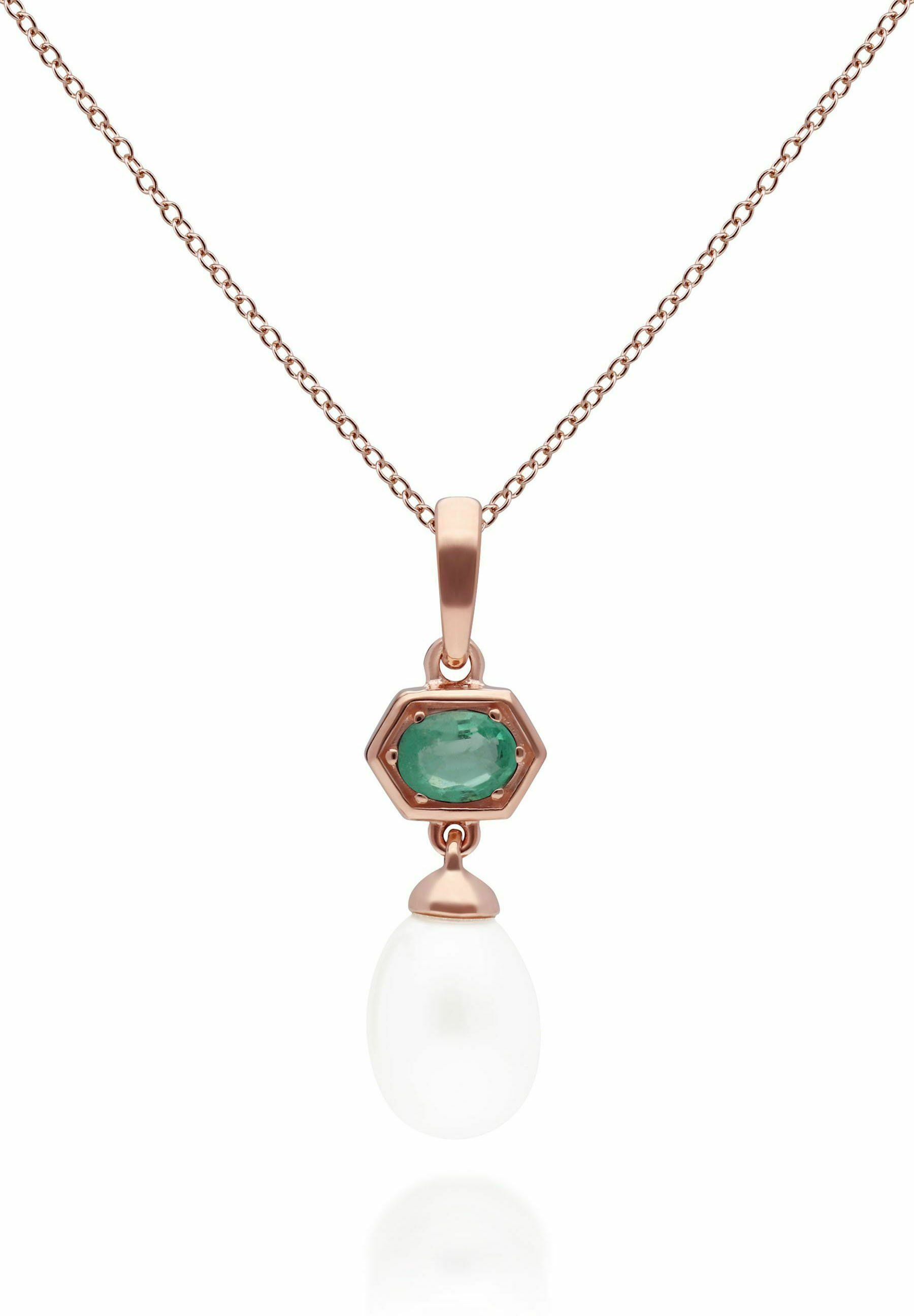 Women HEXAGON - Necklace