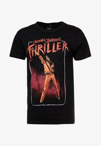 Mister Tee - MICHAEL JACKSON THRILLER VIDEO TEE - Print T-shirt - black - 4