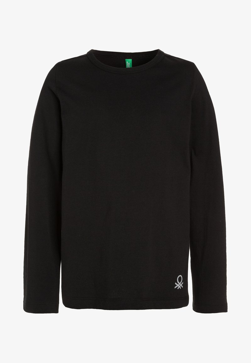Benetton - Langærmede T-shirts - black