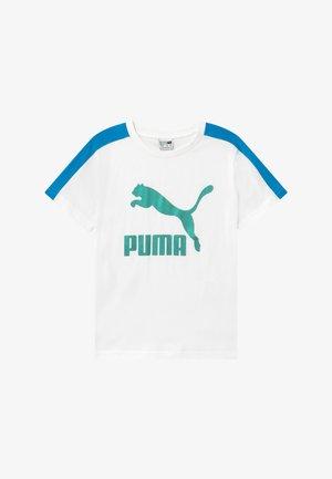 PUMA X ZALANDO TEE - T-shirt z nadrukiem - white