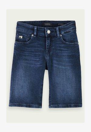 Denim shorts - illusion