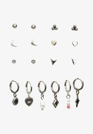 SET  - Earrings - grey