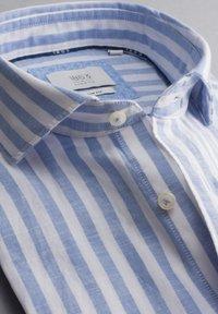 Eterna - SLIM FIT - Shirt - blau/weiß - 5